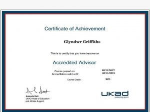 UK Anti Doping accredited